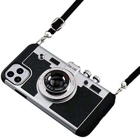 iPhone 11 Pro Max Case Awsaccy 3D Cool Unique Cute Camera Design Case PC Silicone Cover Case product image