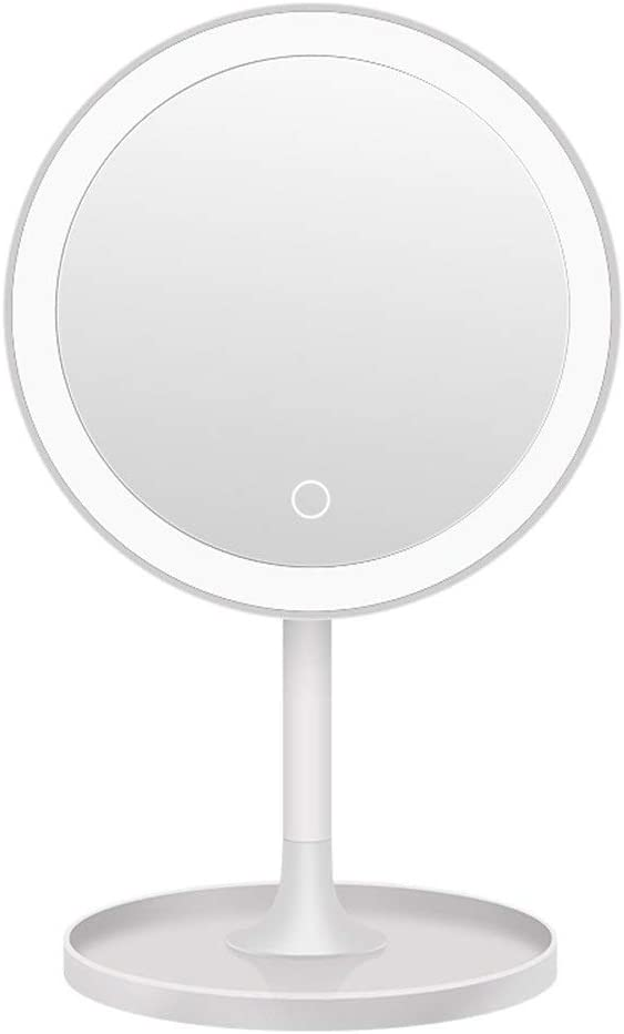 Zjyfyfyf LED Makeup Finally popular brand Mirror with Challenge the lowest price Adjustable Touch Screen Ligh