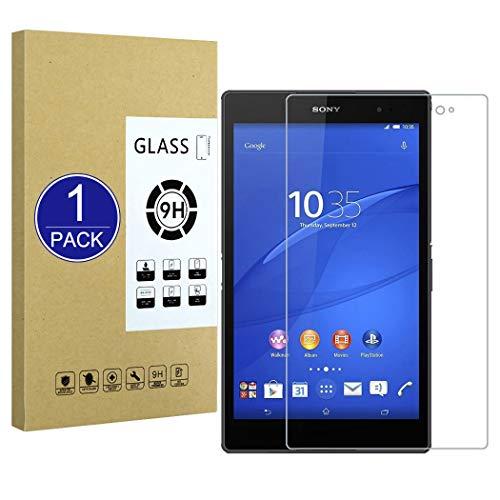 X-Dision Templado Cristal Compatible con Sony Xperia Z3 Tablet Compact 8.0,Protector de Pantalla de Vidrio Templado Premium[Sin Burbujas] [Anti-Rotura]Compatible con Sony Xperia Z3 Tablet Compact 8.0