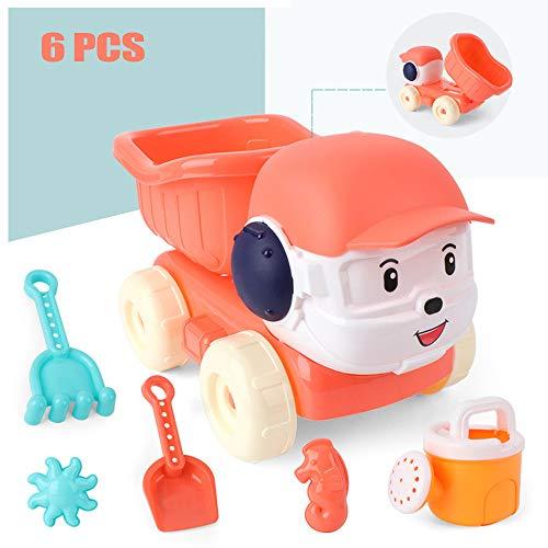 6 Stuks Kids Beach Sand Toys Set Sand Water Wheel, Sand Wheel Beach Toy Met Waterrad, Shovels, Harken Voor Peuters, Kids Outdoor Toys Party Favors
