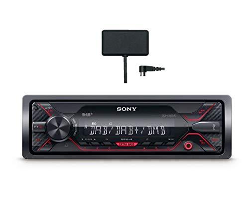 Sony DSX-A310KIT Autoradio con Ricezione DAB/DAB+/FM ed Antenna DAB inclusa, AUX e USB per iPhone e iPod, Android Music Playback, potenza 4x55 W, File FLAC