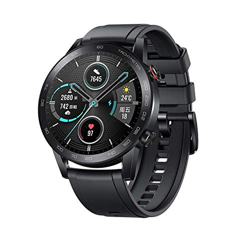 FDRYO Smartwatch 1.39' AMOLED Touch Screen with Built-in GPS (14-Day Battery Life),Fitness Activity Tracker with Heart Rate Stress Monitor 15 Exercise Modes-black