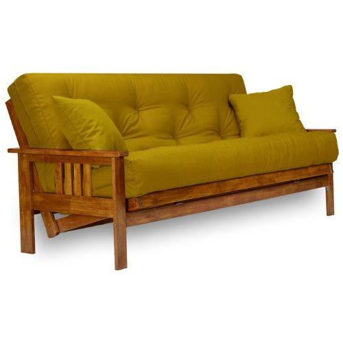 Stanford Futon Frame - Queen Size, Solid Hardwood