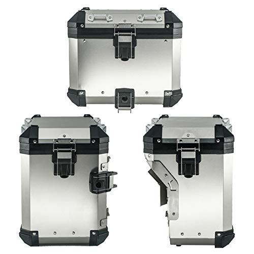 Panniers Laterales Caja Superior para R1200GS R1250GSADAVENTURE ADV LC 2014-2021 Sillín de Cola Caja de Estuche Trasera Bolsa de Equipaje Bolsa de Equipaje Tronco (Color : One Set)
