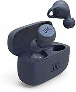 JBL LIVE 300TWS In Ear Bluetooth Kopfhörer in Blau – True Wireless Ohrhörer mit Freisprecheinrichtung – Bis zu 6 Stunden Akkulaufzeit mit einer Ladung – Inkl. Ladecase