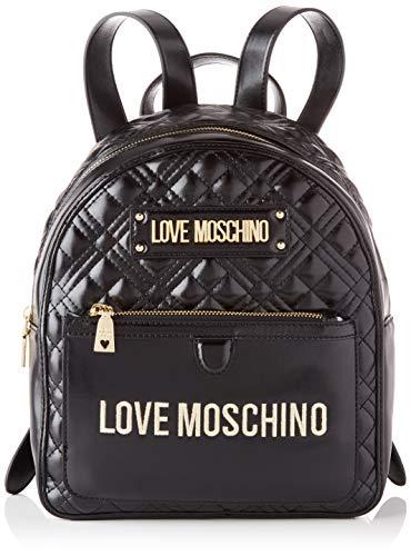 Love Moschino Damen JC4202PP0BKA0 Rucksack, Schwarz, Normale