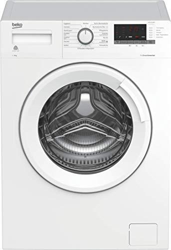 Beko WML61433NPS Waschmaschine/Pet Hair Removal/ProSmart Inverter Motor - mit 10 Jahren Motorgarantie/Watersafe/A+++/ 6 kg/nur 41,5 cm tief - platzsparend