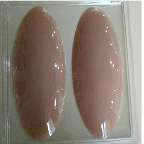 AMOYER 180g / Pair de Silicona en Las piernas Suaves Onlays Pantorrilla Cuerpo del cojín de Correctores de Belleza