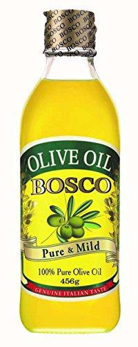 BOSCO オリーブオイル ピュア 瓶 500ml
