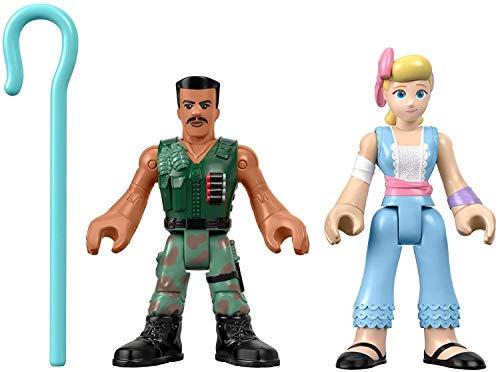 Fisher-Price Disney Pixar Toy Story 4 Combat Carl and Bo Peep