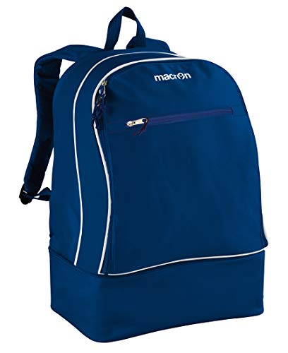 Macron Zaino Zainetto con Scarpiera Academy Backpack Blue Navy