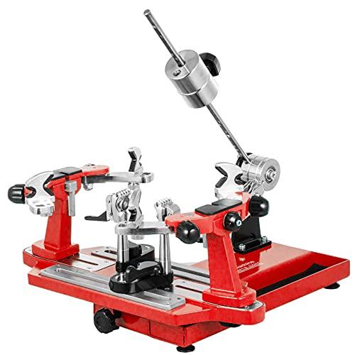 VEVOR Máquina de Encordar de Tenis 53x22x25cm Máquina de Encordado de Raquetas de Tenis de Mesa Herramientas de Encordado de Raquetas de Tenis Máquina de Encordado Rojo