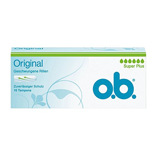 o.b. Original Tampons Super Plus, 16er Packung