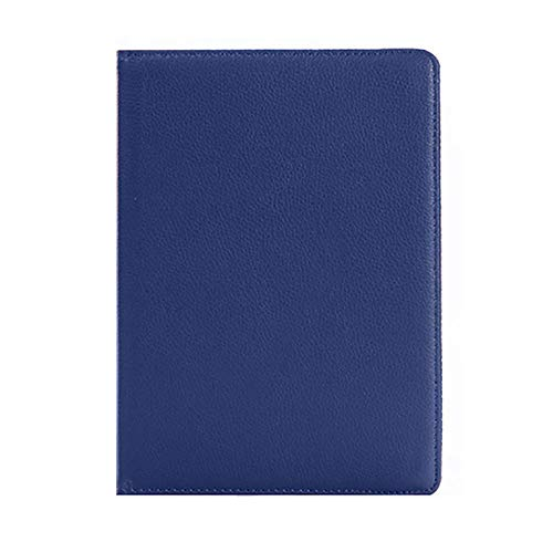 360 draaibaar hoesje voor Samsung Galaxy Tab S2 9.7 2015 Tablet SM-T810 SM-T813 SM-T815 hoesje slank lederen standaard cover Blauw