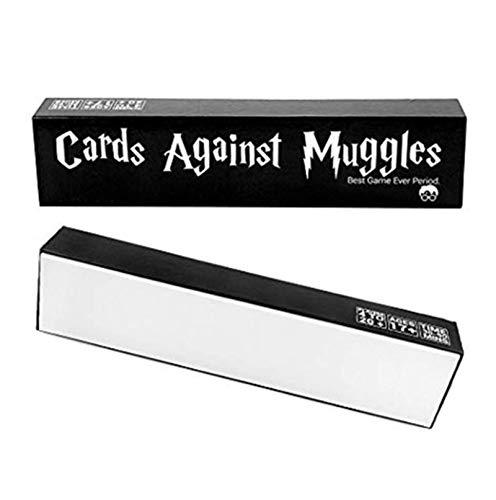 XHDH Giochi di Carte, Contro Giochi di Carte Babbani, Giochi da Tavolo Non Familiari, Gioco da Tavolo per Adulti, Quiz del Partito, Gioco di Carte Contro L'umanità