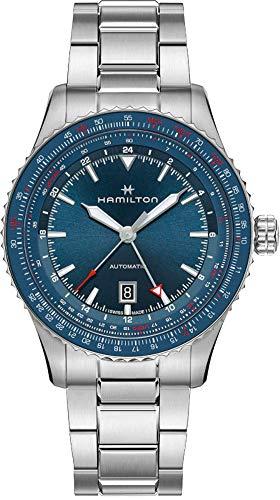 HAMILTON Khaki Aviation - Conversor GMT para coche