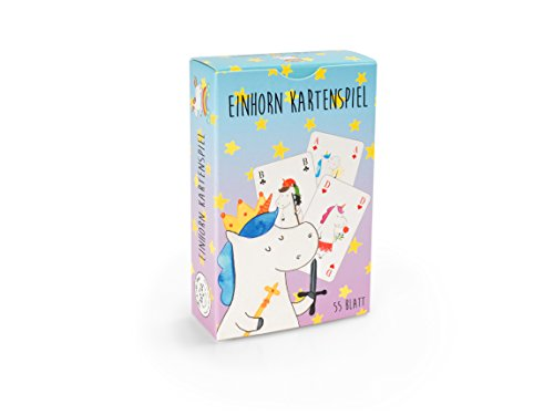 Mr. & Mrs. Panda Poker Karten, Kartenspiel Geschenk, Kartenspiel Einhorn Freunde mit Spruch - Farbe Weiß