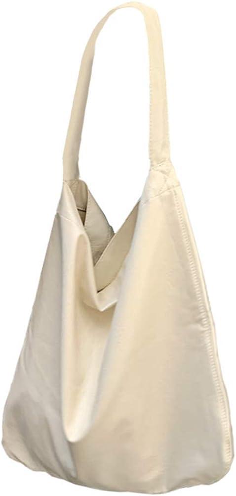 Hobo Handbags for Women Soft Leather Large Shoulder Bags Purse Shopper