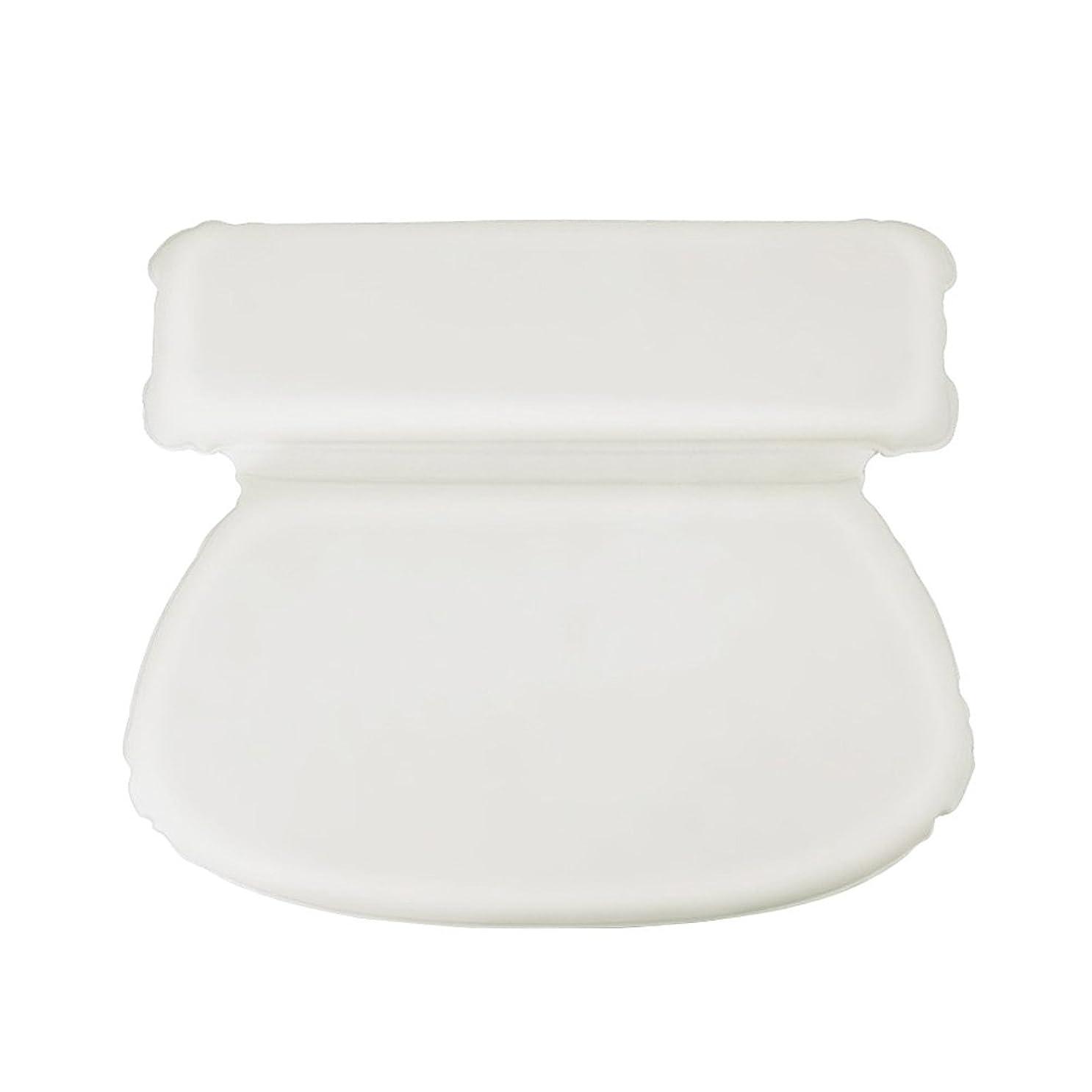 独立麻痺させるゲストLurrose スポンジ浴槽枕吸引バス枕スパヘッドレストアクセサリー用浴室トイレ