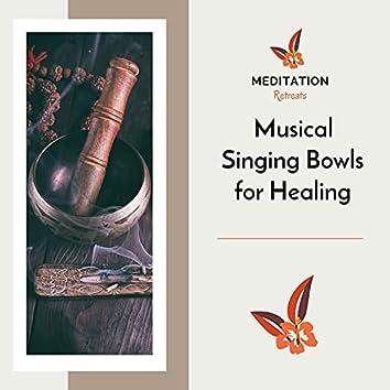 Musical Singing Bowls For Healing