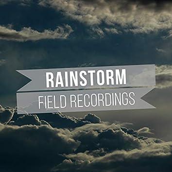 Background Rainstorm & Water Field Recordings
