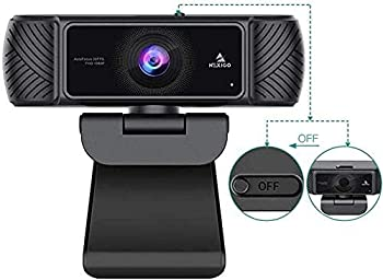 2021 AutoFocus 1080P Webcam with Microphone Software and Privacy Cover NexiGo N680 Business Streaming USB Web Camera for Online Class Zoom Meeting Skype Facetime Teams PC Mac Laptop Desktop