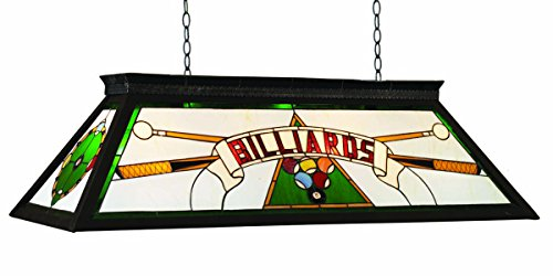 RAM Gameroom Products 44-Inch Billiard Table Light with KD Frame, Green, 44-Inch