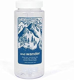 (アンドワンダー) and wander and wander nalgene bottle blue AW-AA768