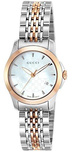 [グッチ] 腕時計 Gタイムレス ホワイトパール文字盤 YA126537 並行輸入品