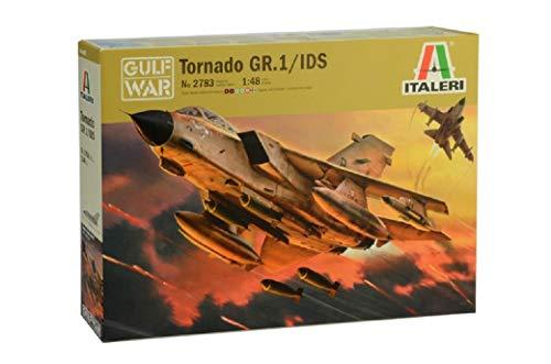 Italeri 2783S-Maqueta de Coche Tornado GR.1/IDs Gulf War (Escala 1:48), Color Plateado (2783S)