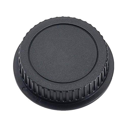 pulabo キャノンEFマウントレンズ用 リアキャップ カメラ用品 傷止め レンズ保護 1個 (ブラック) 手頃な価格で安い