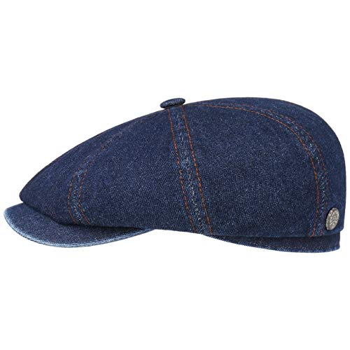 Stetson Gorra Hatteras Denim Hombre - Made in The EU de algodón...