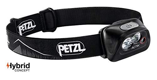 Petzl Unisex Adult's Actik Headlamp, Black, One Size