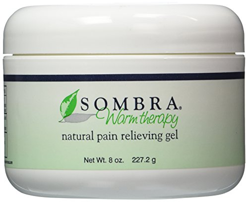 Sombra Warm Therapy Natural Pain Relieving Gel 8- Oz Jar