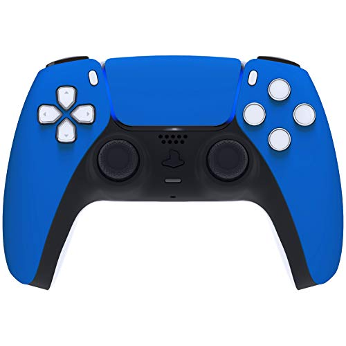 eXtremeRate Touchpad Front Housing Shell for PS5 Controller, DIY Replacement Shell for DualSense 5 Controller, Custom Touch Pad Cover Faceplate for Playstation 5 Controller