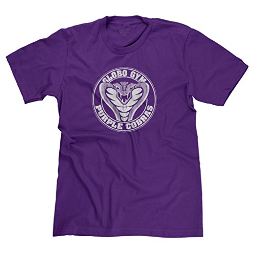 FreshRags Purple Cobras Gym Funny Parody Men's T-Shirt XL Purple