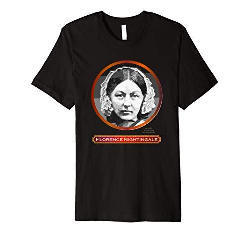 Florence Nightingale, British founder of modern nursing Premium T-Shirt