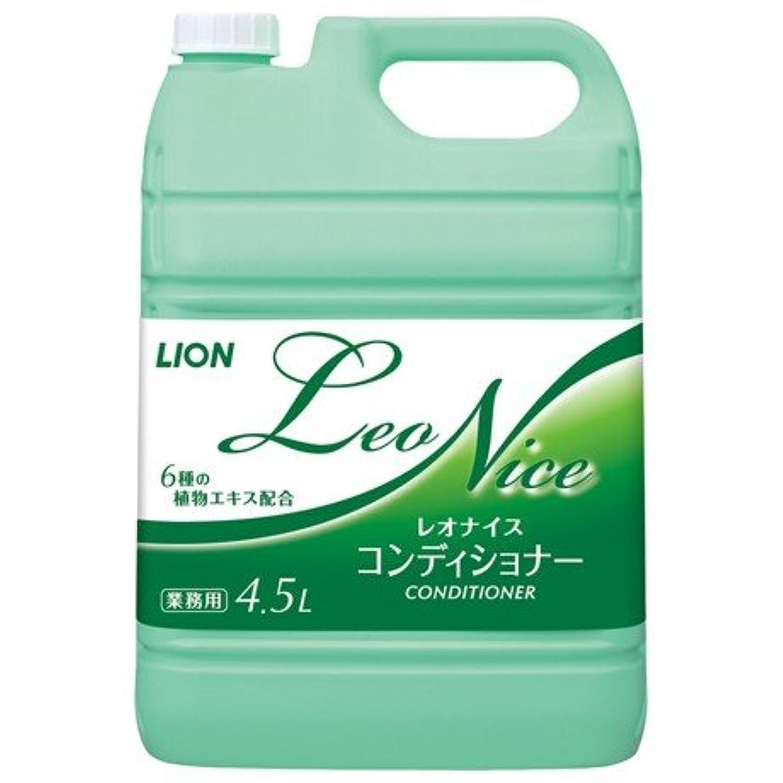 ポーター切り刻む召集するライオン レオナイス コンディショナー 4.5L×3本入