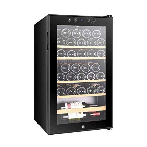 YFGQBCP Nevera de Bebidas y refrigerador, Nevera con la Puerta de Cristal de Soda Cerveza o Vino, refrigerador pequeño de la Bebida for el hogar, Oficina o Bar