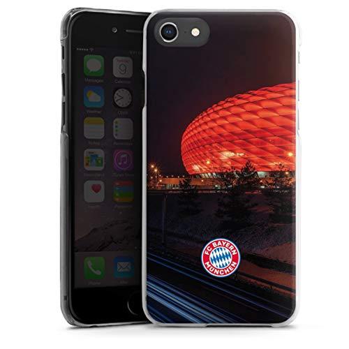 DeinDesign Hard Hülle kompatibel mit Apple iPhone 7 Schutzhülle transparent Smartphone Backcover FCB Stadion FC Bayern München