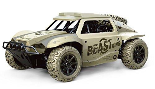 Amewi 22332 Beast Dune Buggy 4WD 1:18 RTR Fahrzeug, Sandfarben