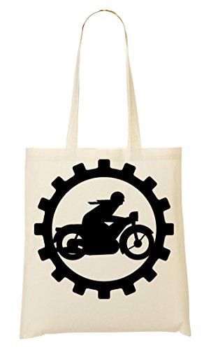 C+P Biker Tragetasche Einkaufstasche