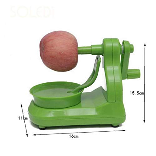 BFYRI 1pc Apple-schneidmaschine-ausstecher Dicer Cutter Birnen-Frucht Peeler Corer Slicer Cutter Stanzmaschine