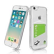 対応機種:iPhone 7/iPhone 8 /iPhoneSE 2020 用ケース、全てのボタン部分はぴったり合うだけではなく、操作しやすいように最も適したサイズで作られています。 【素材】柔軟で弾力性のある耐久性のあるTPU素材は、柔らかく快適なグリップを可能にします。より良い滑り止め、抗汗、黄変防止、耐傷、指紋、防塵、触って触って快適なテクスチャ。 【カード収納】交通カード、クレジットカード、ICカード、定期券、ビジネスカード、名刺などが収納でき、出かけにとても便利です。(ご注意:カードを...