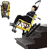 ASEDF Silla De Escalera Eléctrica, Camilla De Escalera Eléctrica De Transferencia Paciente, Silla De Ruedas Evacuación Patineta Transferencia Escalera De Elevador Pacient