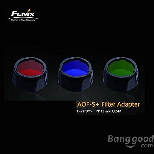 PhilMat Fenix AOF-S Filter-Adapter Rot Blau Grün Für PD35 PD12 UC40
