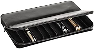 Visconti Dreamtouch Leather 12-Slot Zip Pen Case