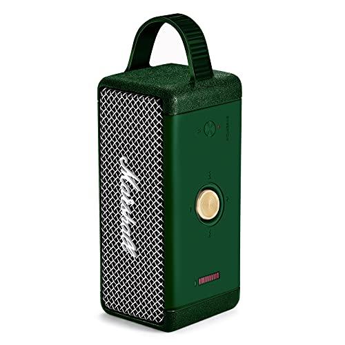 Funda protectora de silicona para altavoz Marshall EMBERTON Bluetooth, Bluetooth Audio Anti-Drop Cubierta protectora portátil (verde)