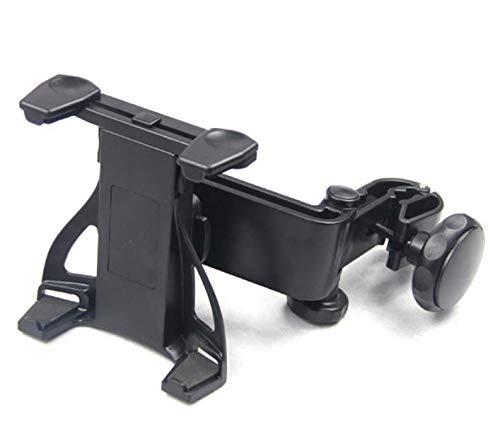 yebbt Rotation Car Mount Backseat Headrest Mount Tablet Holder for 7 tot 10 inch Apple iPad, ASUS, HTC, Sony, Samsung Galaxy Tab A, Tab S, Tab 4, Tab 3, Tab Pro 8.4, Note 8 en meer, zwart