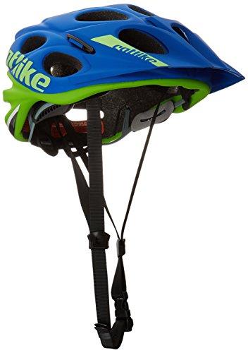 Catlike Leaf 2C Casco de Ciclismo, Unisex Adulto, Verde/Azul, L/58-60